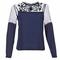 Oblečenie Ženy Blúzky Vero Moda JOSEFINE Námornícka modrá