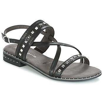 Topánky Ženy Sandále Tamaris  Čierna