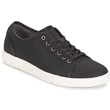 Topánky Muži Nízke tenisky Clarks Lander Cap Čierna