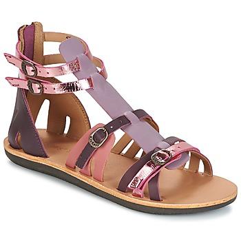 Topánky Ženy Sandále Kickers SPARTIATEN Fialová  / Viacfarebná