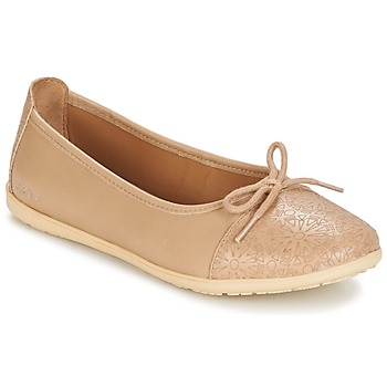 Topánky Dievčatá Balerínky a babies Kickers EDANA Béžová