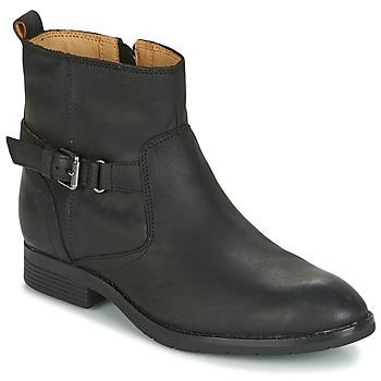 Topánky Ženy Polokozačky Sebago NASHOBA LOW BOOT WP Čierna