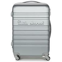 Tašky Pevné cestovné kufre Little Marcel BLOC Strieborná