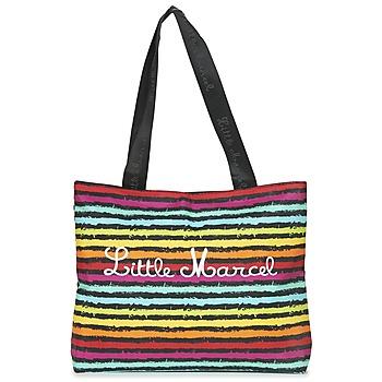 Tašky Ženy Veľké nákupné tašky  Little Marcel MIRAGE čierna / Viacfarebná