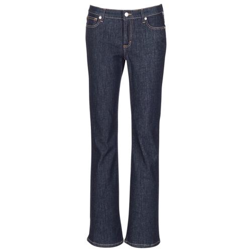 Oblečenie Ženy Džínsy Bootcut Yurban IHEKIKOU BOOTCUT Modrá