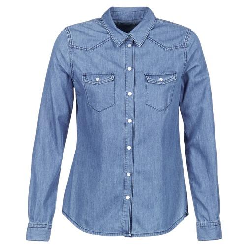 Oblečenie Ženy Košele a blúzky Yurban IHEFOU Modrá