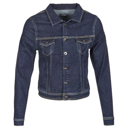 Oblečenie Ženy Džínsové bundy Yurban IHELEFI Modrá / Medium