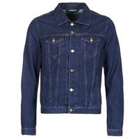 Oblečenie Muži Džínsové bundy Yurban IHEDEM Modrá