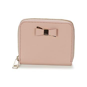 Tašky Ženy Malé peňaženky Furla ASIA S ZIPPER Ružová