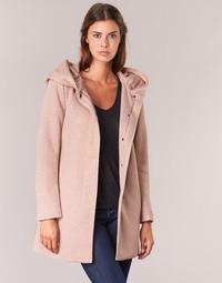 Oblečenie Ženy Kabáty Only SEDONA Ružová
