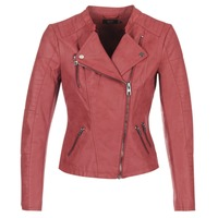 Oblečenie Ženy Kožené bundy a syntetické bundy Only AVA Červená
