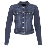 Oblečenie Ženy Džínsové bundy Only WESTA Modrá