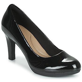 Topánky Ženy Lodičky Clarks ADRIEL VIOLA Čierna / Pat