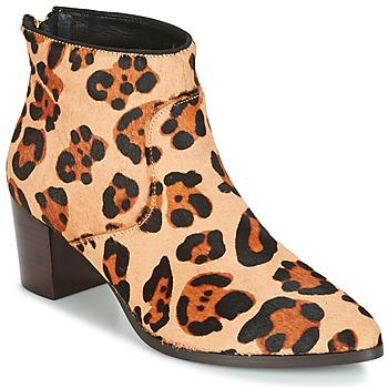 Topánky Ženy Čižmičky Bocage MELODY Leopard