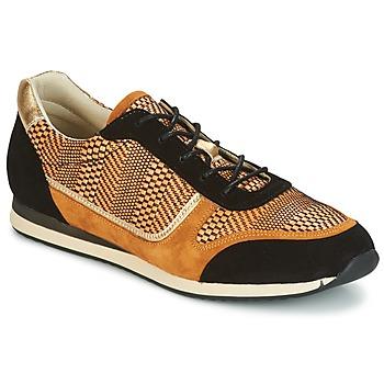 Topánky Ženy Nízke tenisky Bocage LAURETTE čierna / Okrová-svetlá hnedá