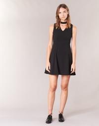 Oblečenie Ženy Krátke šaty Moony Mood GUDU Čierna