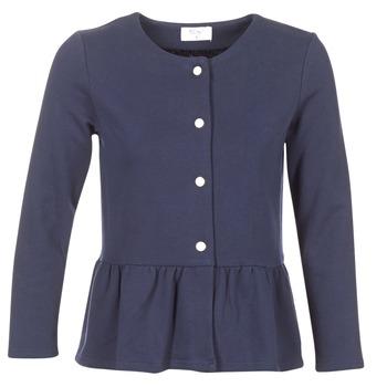 Oblečenie Ženy Saká a blejzre Betty London INNATA Námornícka modrá