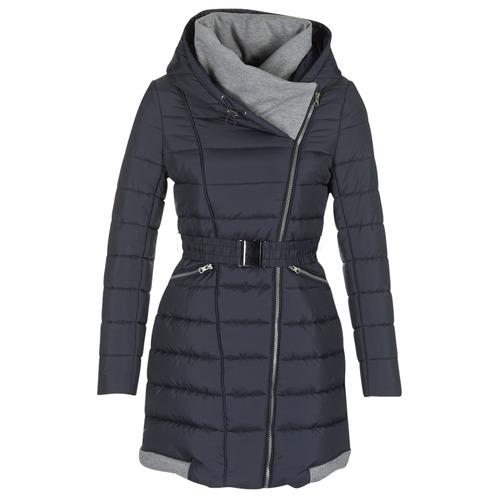Oblečenie Ženy Vyteplené bundy Casual Attitude HAZETTE Námornícka modrá