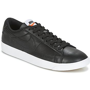 Topánky Ženy Nízke tenisky Nike BLAZER LOW LEATHER W Čierna