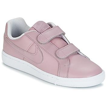 Topánky Dievčatá Nízke tenisky Nike COURT ROYALE CADET Ružová