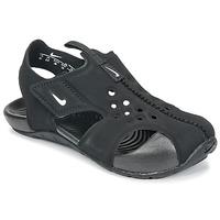 Topánky Deti Sandále Nike SUNRAY PROTECT 2 TODDLER Čierna / Biela