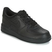 Topánky Deti Nízke tenisky Nike AIR FORCE 1 CADET Čierna