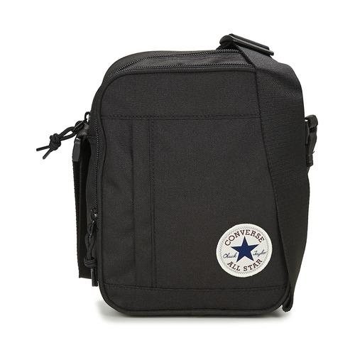 Tašky Vrecúška a malé kabelky Converse CORE POLY CROSS BODY Čierna