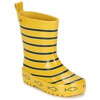 Topánky Deti Čižmy do dažďa Be Only TIMOUSS žltá / Modrá