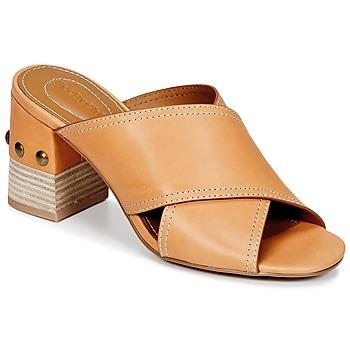 Topánky Ženy Šľapky See by Chloé SB30083 Ťavia hnedá