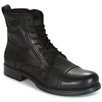 Topánky Muži Polokozačky Jack & Jones RISSOL čierna