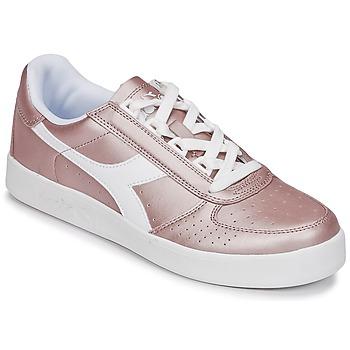 Topánky Ženy Nízke tenisky Diadora B ELITE I METALLIC WN Bronzová