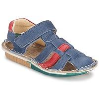 Topánky Chlapci Sandále El Naturalista KIRI Modrá / Červená