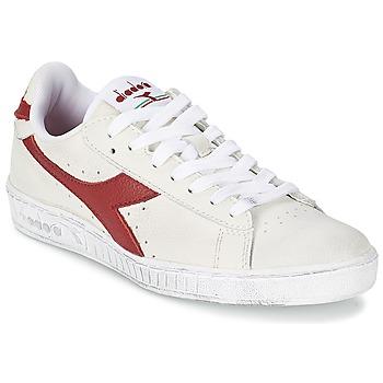 Topánky Nízke tenisky Diadora GAME L LOW WAXED Biela / Červená