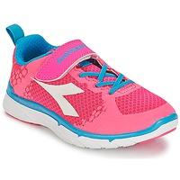 Topánky Dievčatá Nízke tenisky Diadora NJ-303-1 JR Ružová