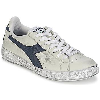 Topánky Nízke tenisky Diadora GAME L LOW WAXED Biela / Modrá
