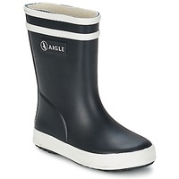 Topánky Deti Čižmy do dažďa Aigle BABY FLAC čierna