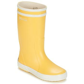 Topánky Deti Čižmy do dažďa Aigle LOLLY POP žltá / Biela