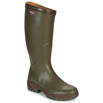 Topánky Muži Čižmy do dažďa Aigle PARCOURS 2 Kaki