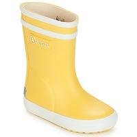 Topánky Deti Čižmy do dažďa Aigle BABY FLAC Žltá