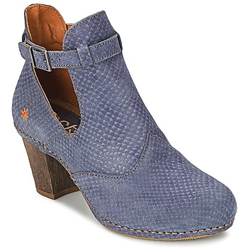 Topánky Ženy Čižmičky Art IMEET BO Modrá