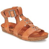 Topánky Ženy Sandále Art CRETA SPARA ťavia hnedá