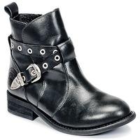 Topánky Dievčatá Polokozačky Young Elegant People CALYPSOM Čierna