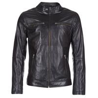 Oblečenie Muži Kožené bundy a syntetické bundy Casual Attitude IHEXO Čierna