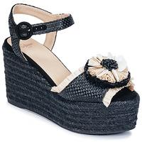 Topánky Ženy Sandále Castaner EFEDRA Čierna