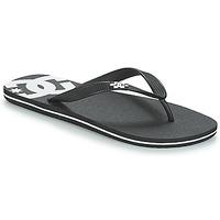 Topánky Muži Žabky DC Shoes SPRAY M SNDL BLW Čierna / Biela