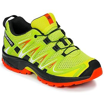 Topánky Deti Univerzálna športová obuv Salomon XA PRO 3D J Žltá / Čierna