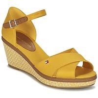 Topánky Ženy Sandále Tommy Hilfiger ICONIC ELBA SANDAL BASIC Žltá