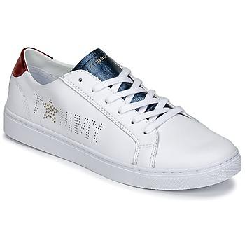Topánky Ženy Nízke tenisky Tommy Hilfiger VENUS 22 Biela / Modrá / Červená