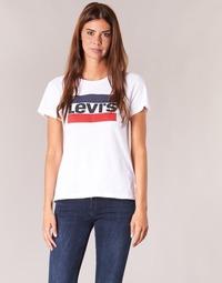 Oblečenie Ženy Tričká s krátkym rukávom Levi's THE PERFECT TEE Biela