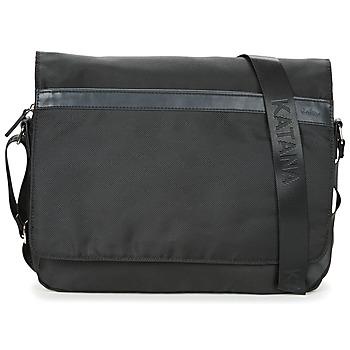 Tašky Kabelky a tašky cez rameno Katana  čierna